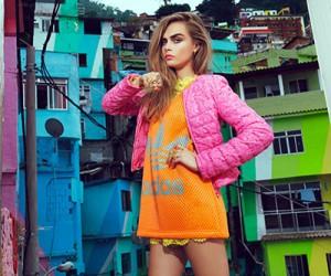 Cara Delevingne на страницах Vogue Brazil