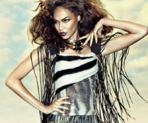Joan Smalls для журнала Vogue Brazil