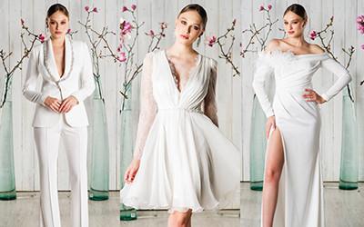 Свадебные костюмы и платья M.Marquise 2019