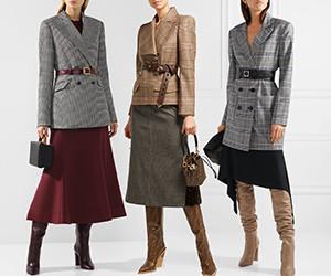 Модный жакет с поясом. Выбираем 10 лучших вариантов с чем носить.