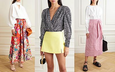 Выбираем самые модные хлопковые юбки