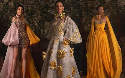25 роскошных вечерних платьев Georges Hobeika Haute Couture весна-лето 2021