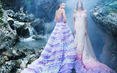Вечерние платья Saiid Kobeisy Haute Couture весна-лето 2019