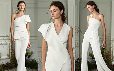 Элегантные свадебные костюмы и платья Safiyaa осень-зима 2020-2021