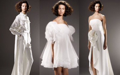 Свадебные платья и костюмы Viktor & Rolf весна-лето 2020