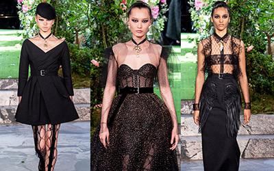 15 самых красивых вечерних нарядов Christian Dior Couture осень-зима 2019-2020