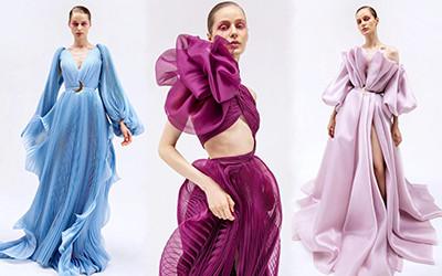 15 роскошных вечерних платьев Sara Mrad Haute Couture 2022