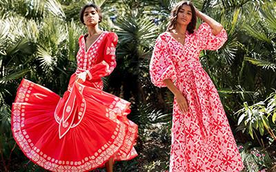 Роскошная пляжная одежда для женщин Hester Bly 2021