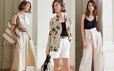 Элегантные образы для женщин на весну 2019 от Lafayette 148 New York
