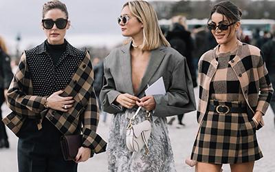 Нарядные гости показа Dior осень-зима 2020-2021