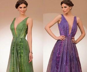 Вечерние платья Bien Savvy осень 2015