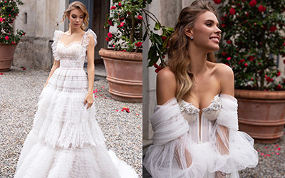 Свадебные платья Daria Karlozi весна-лето 2020