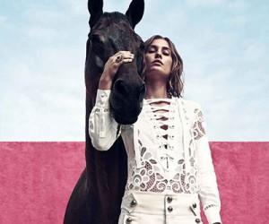 Nadja Bender на страницах Harper's Bazaar US
