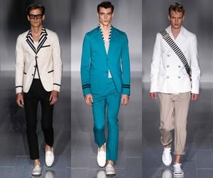 Мужская одежда Gucci весна-лето 2015