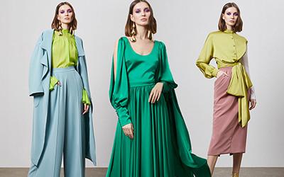 Элегантные вечерние платья и костюмы Harithand весна-лето 2020