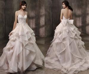 Свадебные платья Badgley Mischka осень-зима 2017-2018