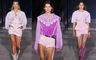 Женская одежда Isabel Marant весна-лето 2021