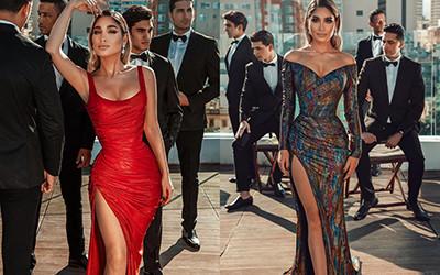 Роскошные вечерние платья Sadek Majed 2021