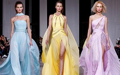 10 красивых вечерних платьев Georges Chakra Haute Couture весна-лето 2019