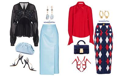 Модные сеты с юбкой-карандаш на весенне-летний сезон 2020