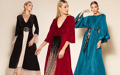 10 вечерних платьев для встречи новогодних праздников Nidodileda