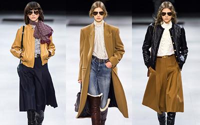 Женская одежда Celine осень-зима 2019-2020