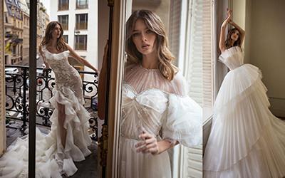 15 роскошных свадебных платьев Dylan Parienty Couture 2021
