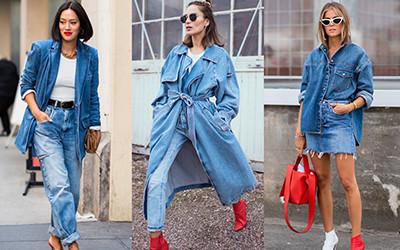 Уличная мода: Как стильно носить деним?