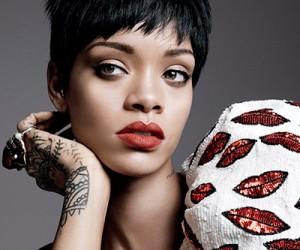Rihanna на страницах Vogue US