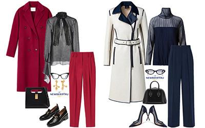 Модные сеты женской одежды весна 2021