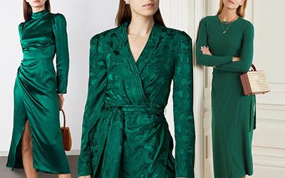 20 красивых зелёных платьев, вдохновлённых образом Меган Маркл