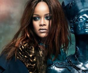 Rihanna на страницах Vogue Arabia