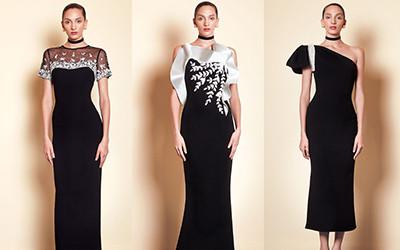 10 черных вечерних платьев из коллекции Saiid Kobeisy Pre-Fall 2019