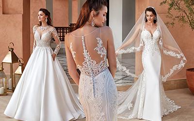 Красивые свадебные платья из коллекции Eddy K Milano Couture 2021