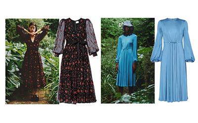 10 ретро-платьев из коллекции Erdem Resort 2021