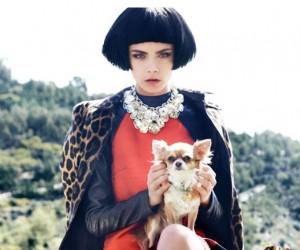Cara Delevingne для журнала Vogue Russia