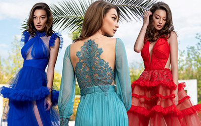 Вечерние платья Cristallini весна-лето 2019