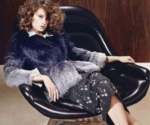 Paulina Heiler для журнала Elle France