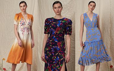 20 красивых платьев из коллекции Saloni Pre-Fall 2019