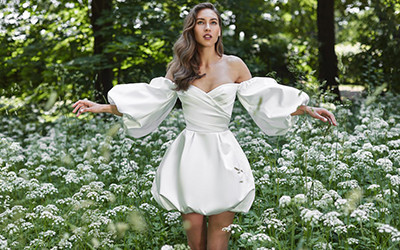 Соблазнительный гламур в свадебных платьях Rasario 2021