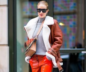 Модный стиль Роузи Хантингтон-Уайтли (Rosie Huntington-Whiteley)