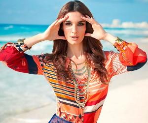 Paz Vega в фотосессии для Glamour Mexico