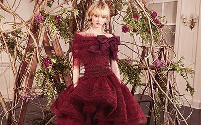 Вечерние платья Marchesa осень-зима 2019-2020