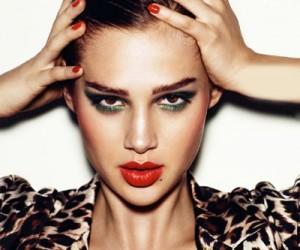Макияж для журнала Elle France