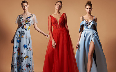 Вечерние платья Pollardi осень-зима 2019-2020