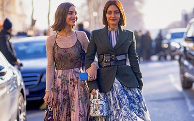 Street style на Неделе Высокой моды в Париже 2019