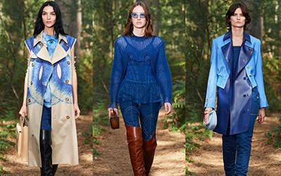 Женская одежда Burberry весна-лето 2021