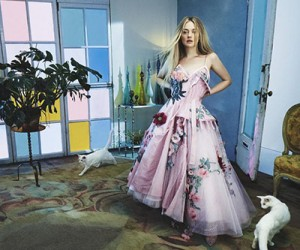 Dakota Fanning для журнала Vogue Australia