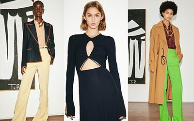 Женская одежда Victoria Beckham весна-лето 2021