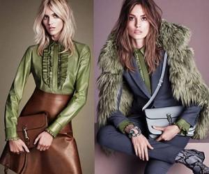 Женская одежда Gucci осень-зима 2014-2015